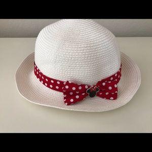 Girls Minnie Mouse brimmed hat - Disneyland